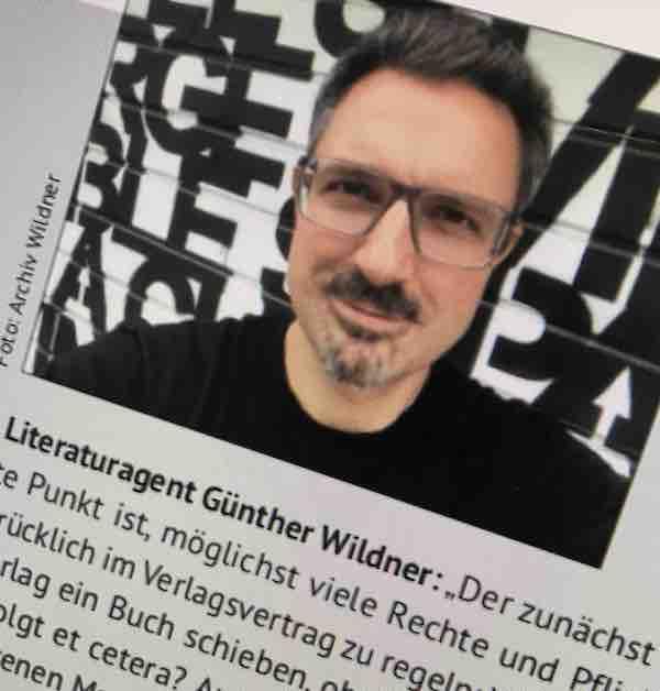 Günther Wildner in der Federwelt