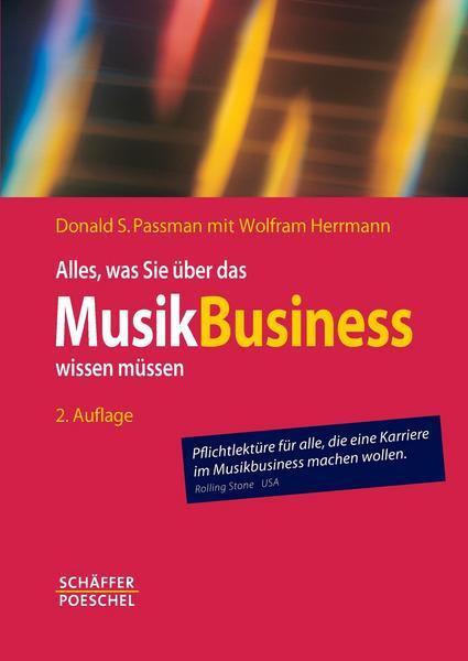 Donald Passman: Alles was Sie über das Musikbusiness wissen müssen