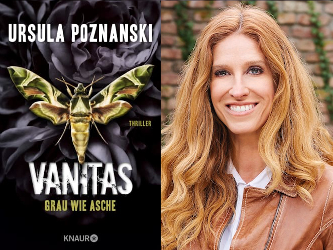 Ursula Poznanski mit VANITAS – Grau wie Asche