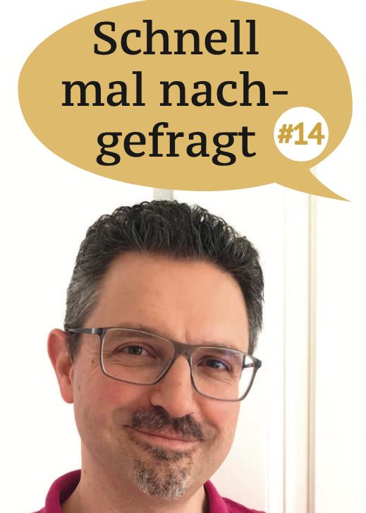 Schnell mal nachgefragt – Was suchen Verlag aktuell?